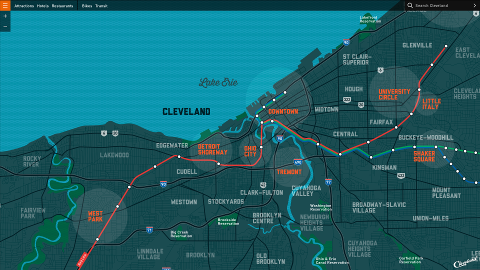 Interactive Cleveland Map