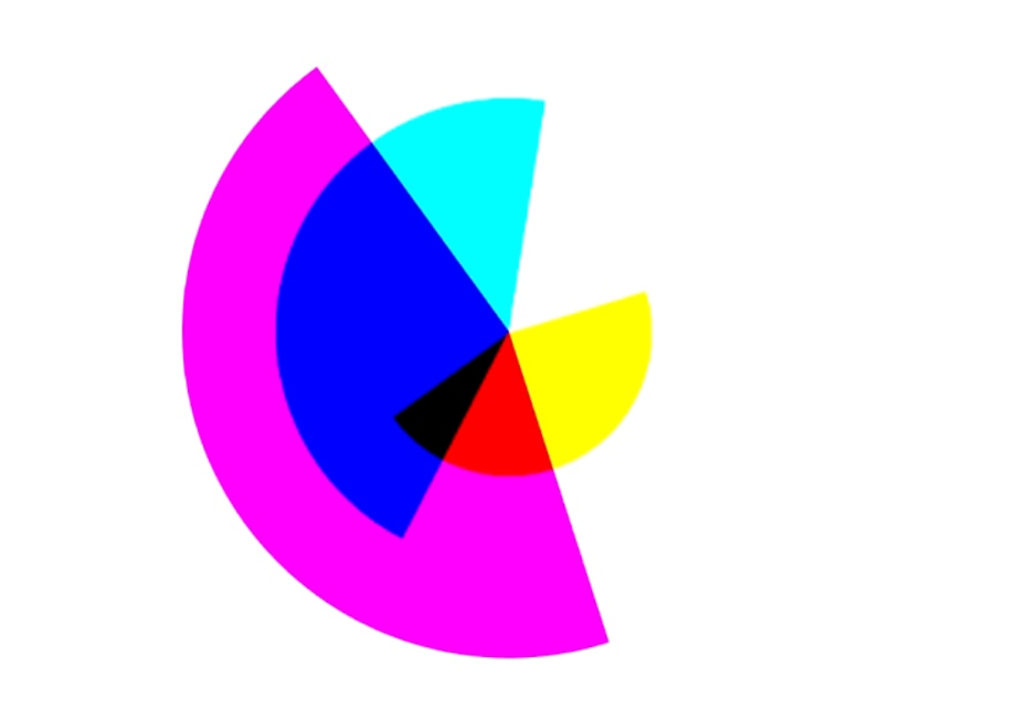 Shapes Lines Colours – CMY motion