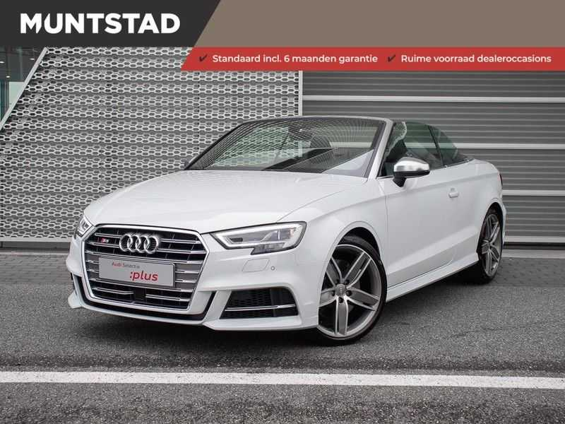 Audi A3 cabriolet 2.0 TFSI S3 quattro | B&O Sound | Adapt.Cruise | Dynamic RED | Stoelverwarming | LED | Climate-control | afbeelding 1
