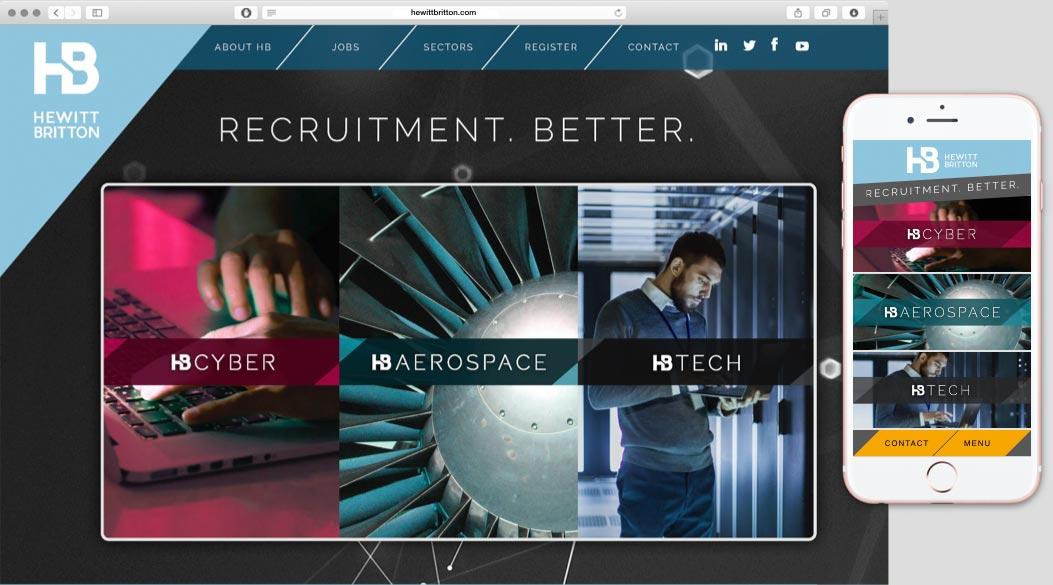 Fresh & unique recruitment site