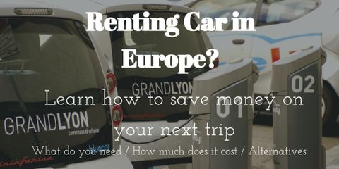Prices, rental agencies, and the country itself are all important factors. Renting car in Europe isn't always easy, but we have made it easy for you.