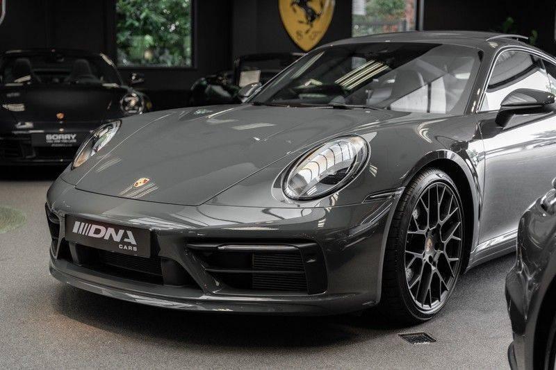 Porsche 911 992 4S PTS Schieffer Grau Slate Grey Sport Design Pakket 930 Leder vol Carbon 3.0 Carrera 4 S afbeelding 3