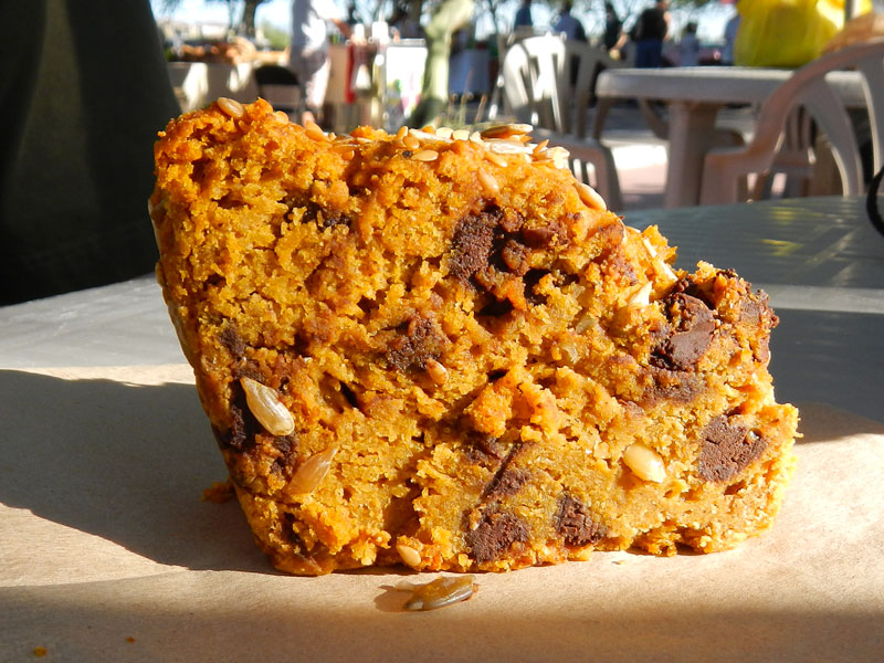 Pumpking Chocolate Chip Bread