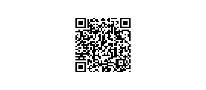The resulting QR code