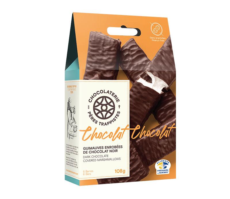 Chocolat Guimauves enrobées de chocolat noir 6