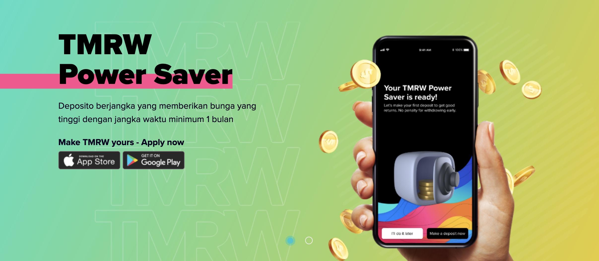 TMRW by UOB: Power Saver dan City of TMRW