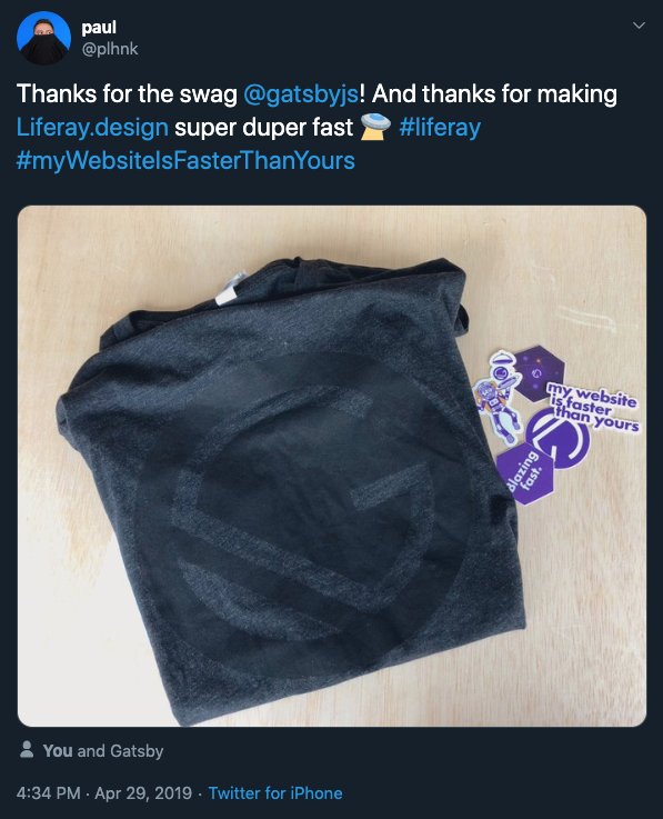 Who doesn't love free swag?