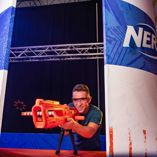 nerf challenge event in los angeles