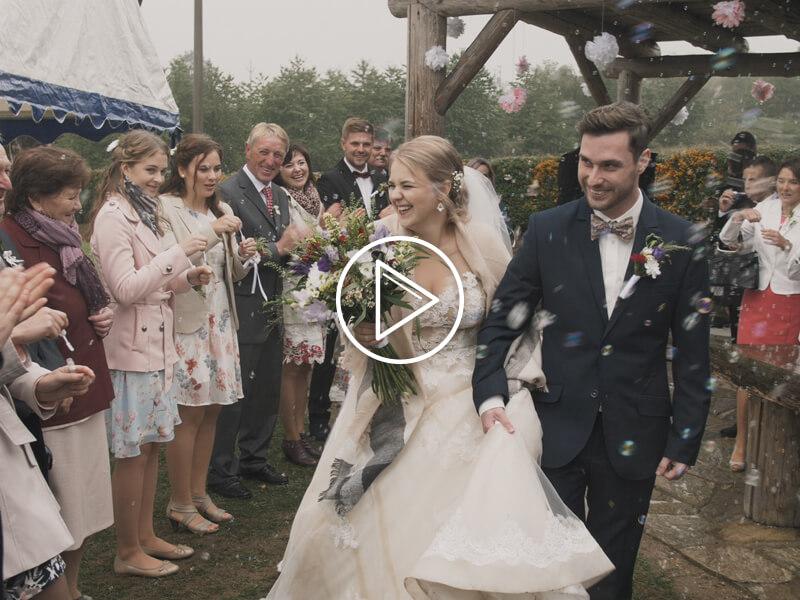 Kateřina a Honza svatební video