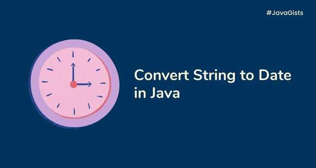 Convert a String to Date (LocalDate, LocalDateTime, ZonedDateTime, LocalTime) in Java