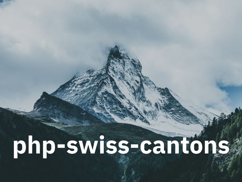 php-swiss-cantons