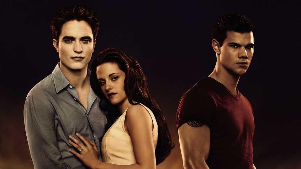 Pattinson, Stewart and Lautner in The Twilight Saga: Breaking Dawn Part 1