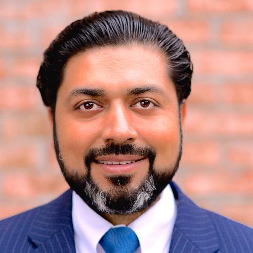 Headshot of Ajay Malhotra