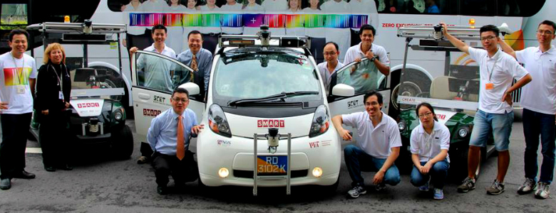 Driving autonomously in Singapore