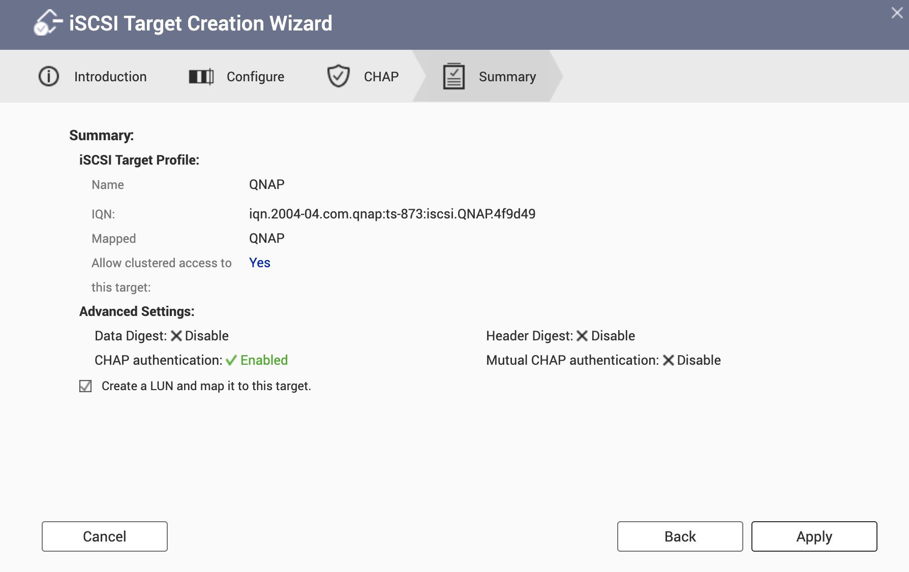 Configure Qnap iSCSI as VMware Datastore - 6