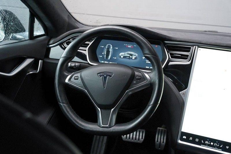 Tesla Model S 85D Performance 700pk Free Charging Pano Leer afbeelding 19