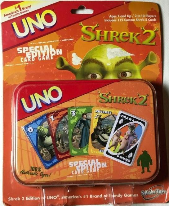 Shrek 2 Uno