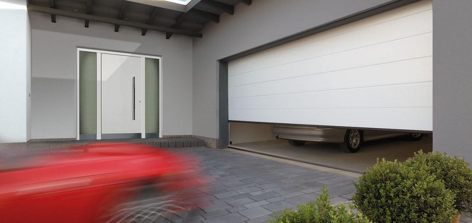 Гаражные секционные ворота Hormann в Марий Эл
