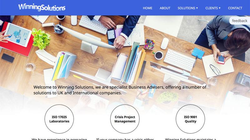 Winning Solutions Ltd.