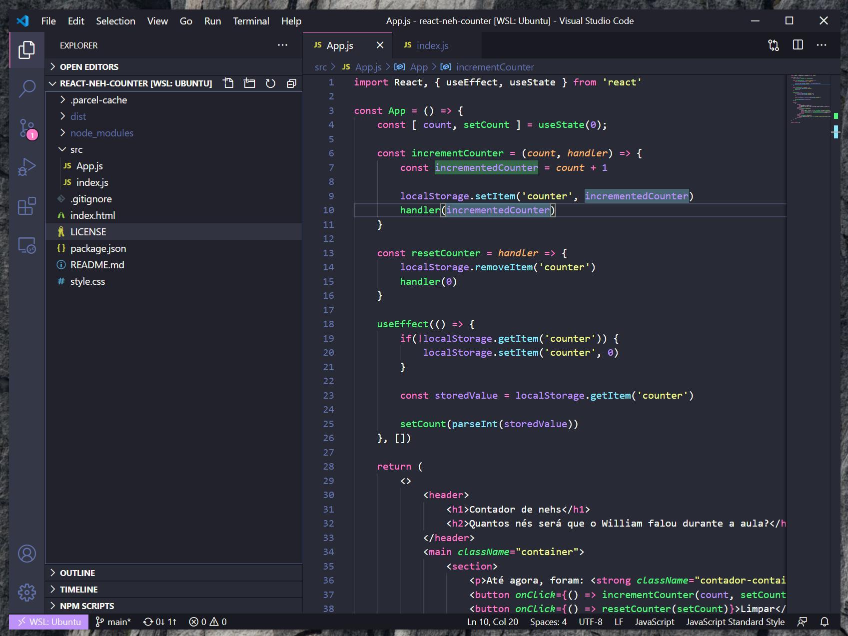 Editor de textos VS Code