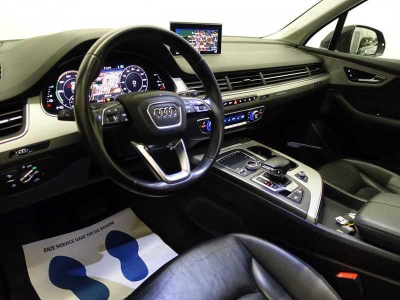 Audi Q7 3.0 TDI E-tron Quattro 374pk S-line Premium Autom- Pano, Virtual Cockpit, Bose, Leer, Camera afbeelding 2