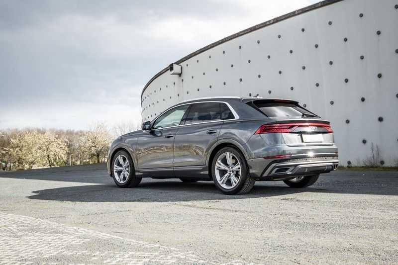 Audi Q8 55 TFSI quattro 340PK | Pano.dak | S-Line | 360 Camera | Adapt.cruise | Head-Up | B&O Advanced Sound | Massage/ventilatie/verwarmde Stoelen | Matrix LED | Full option | afbeelding 16