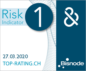 banner top-rating.ch: risk indicator 1