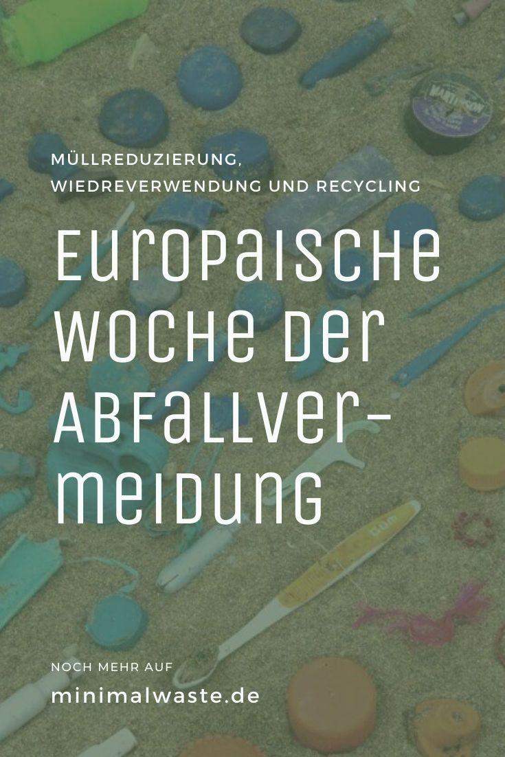 Pinterest Cover zu 'Woche der Abfallvermeidung: 6 Ideen'