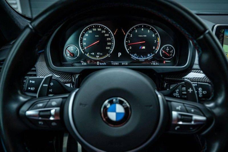 BMW X5 M, 575 PK, Pano/Dak, Leder Merino, Head/Up, Keyless, Soft/Close, Harman/Kardon, Surround View, LED, 22'' Breyton RS, 2016!! afbeelding 15