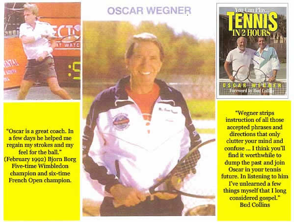 USTA Block Party with Oscar Wegner