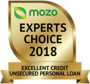 Mozo excellent credit award 2018