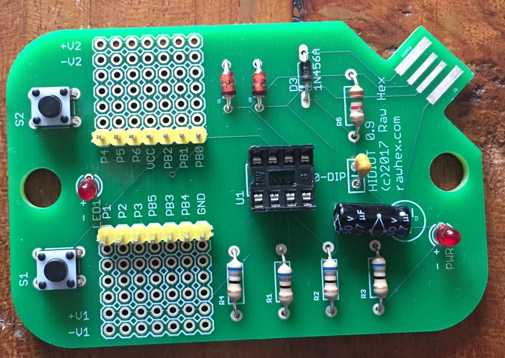 Board without ATTiny85