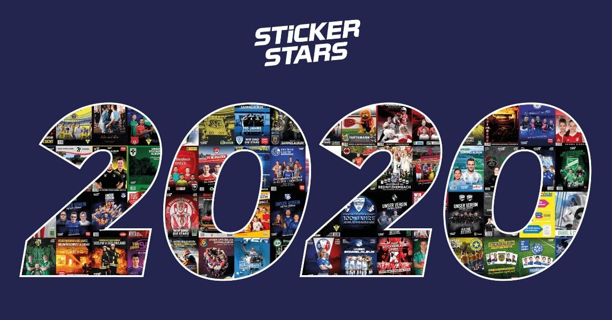Unser persönlicher Stickerstars Jahresrückblick 2020