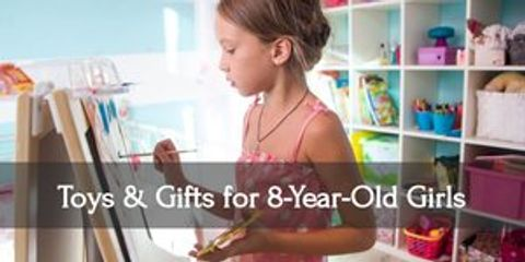 Add a little joy to your eight year old girl's day with these fantastic gifts!