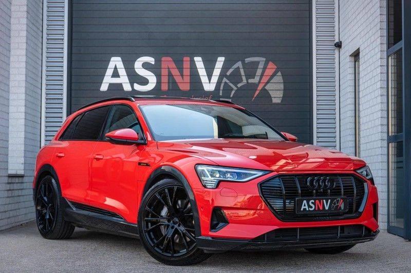 Audi e-tron 55 Quattro Advanced Exterieur, 408 PK, 4% bijtelling, Head/Up display, Pano/Dak, Night/Vision, S-line interieur, 15DKM afbeelding 1