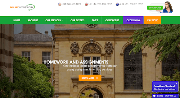 domyhomework.co review