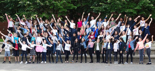 Photo **Chorale du COLLEGE PARC DE VILLEROY** <br>Mennecy