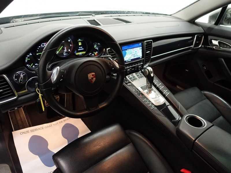 Porsche Panamera 3.0 S E-Hybrid 334pk Turbo Sport Uitv! Leer, Schuifdak, Navi, Xenon Led afbeelding 16