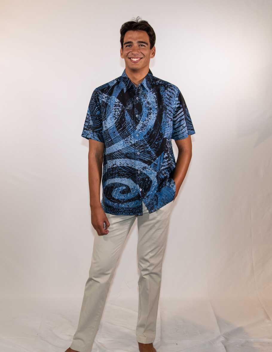 Arenui, Button-Down Aloha Shirt