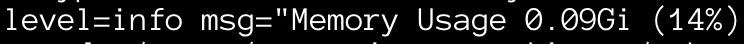 Change: Memory usage calculation improvements