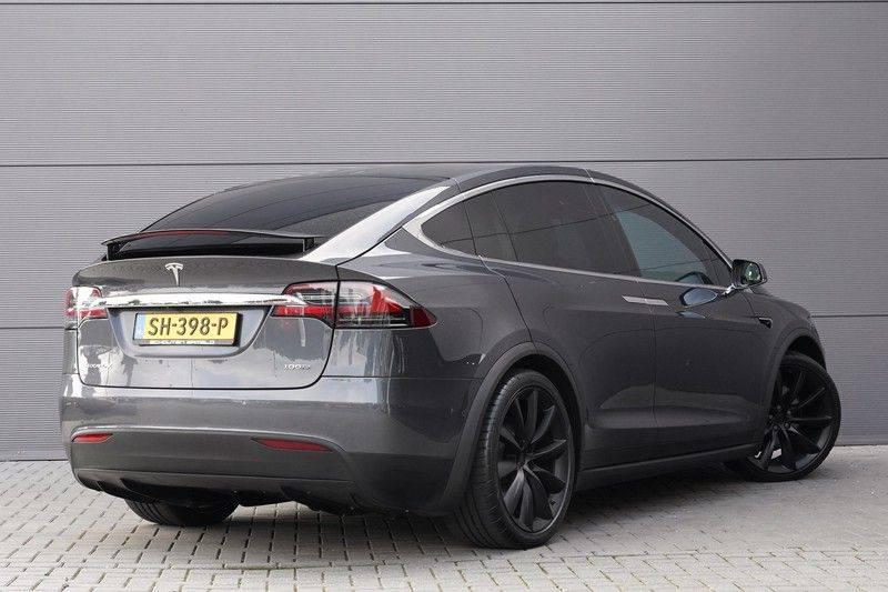"""Tesla Model X 100D Excl. BTW Luchtvering, Autopilot Leer 4% bijt. 22"""" afbeelding 11"""
