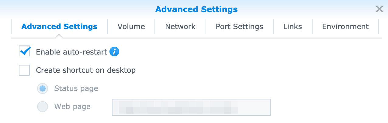 Enabling the auto-restart functionality of the Docker container