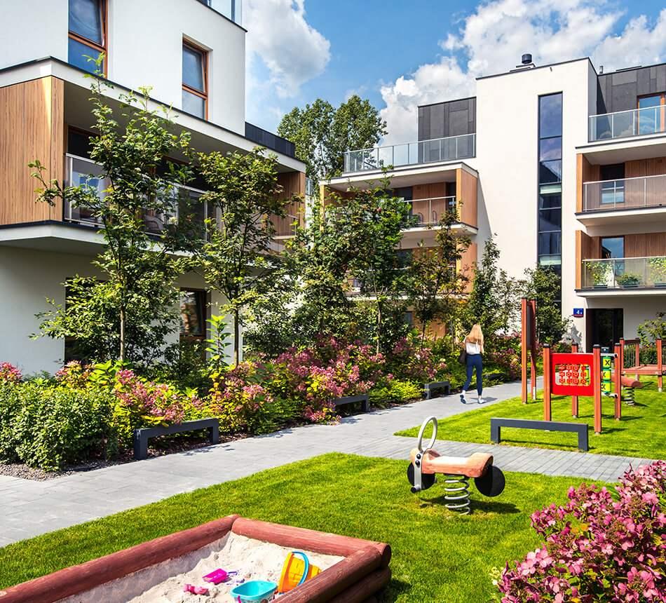 Apartamenty Marymont - wizualizacja inwestycji zrealizowanych