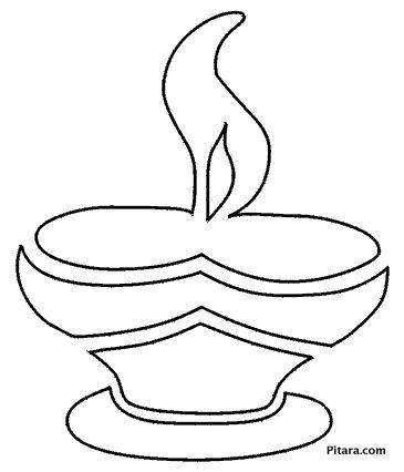 Diwali diya (earthen lamp)