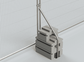 Temporary Fencing Ballast Kentledge