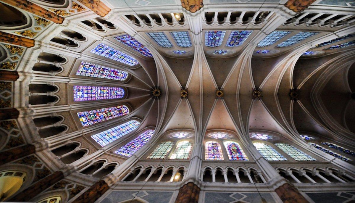 Chartres, Gewölbe