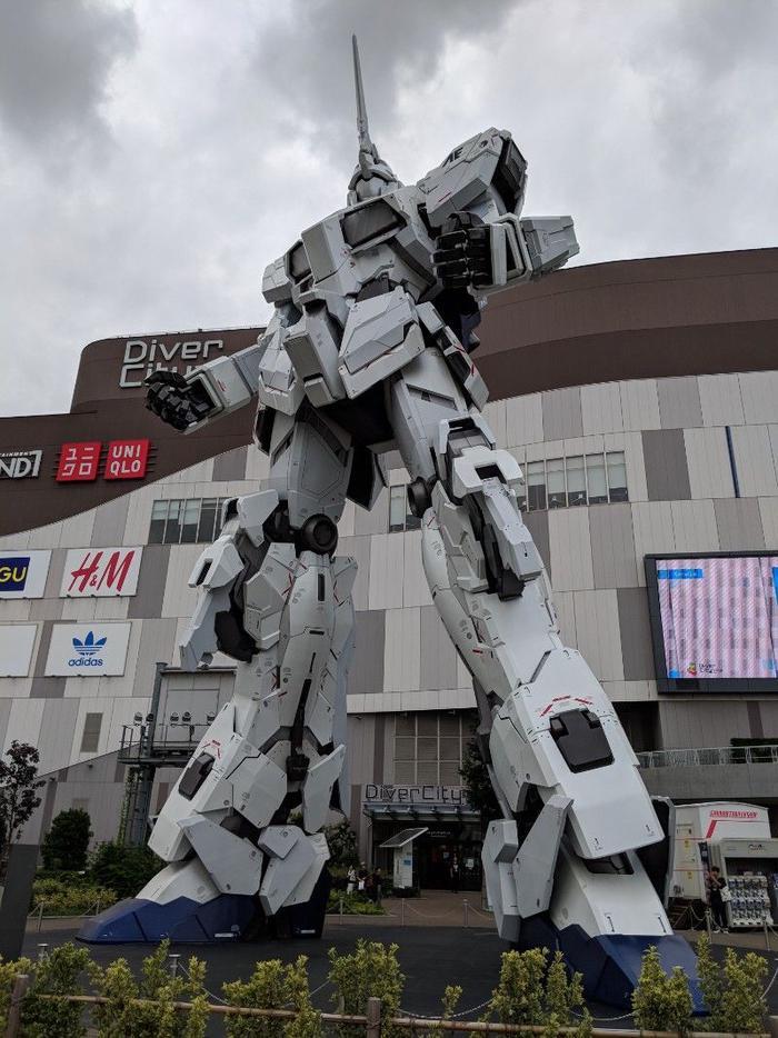 Gundamn Unicorn Mech
