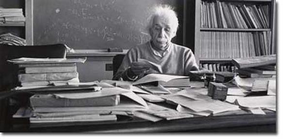 Meja Kerja Einstein