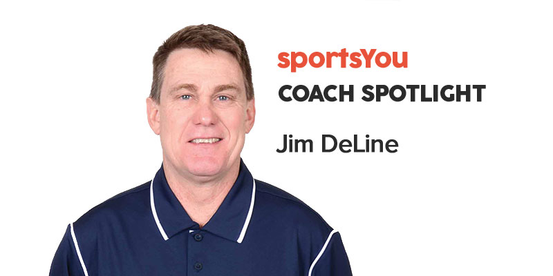 sportsYou Coach Spotlight: Q&A with Coach Jim DeLine - Photo by sportsYou Photography