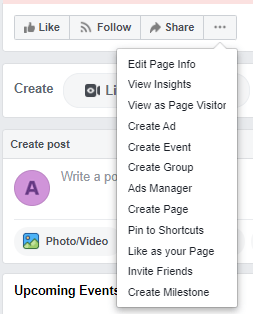 Page visitor